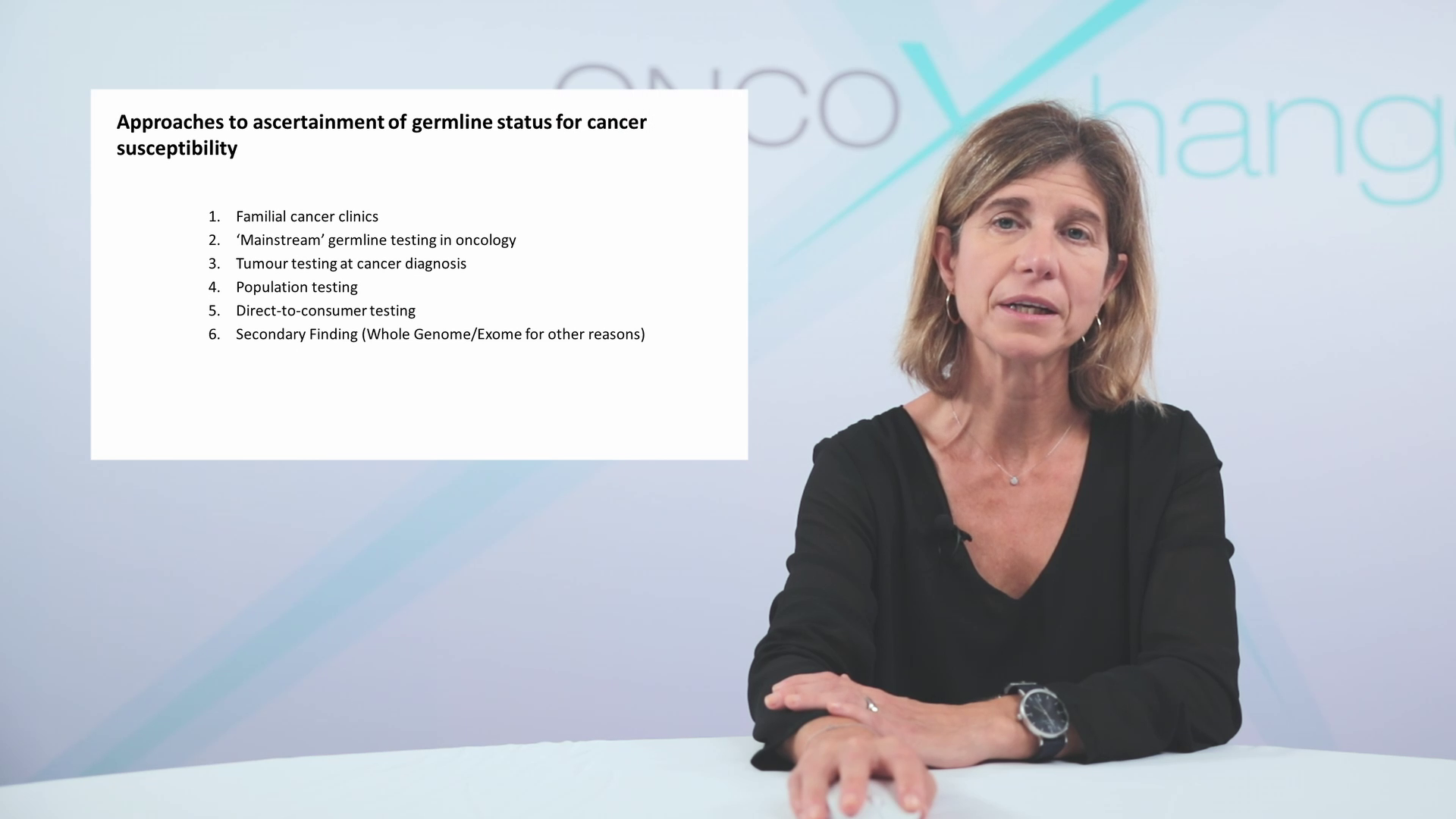 Multidisciplinary management of germline and somatic gene alterations in patients with metastatic breast cancer.