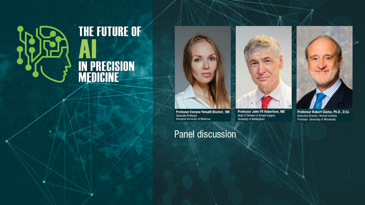 AI SERIES - Panel discussion: Do we need Artificial Intelligence for Precision Medicine?
