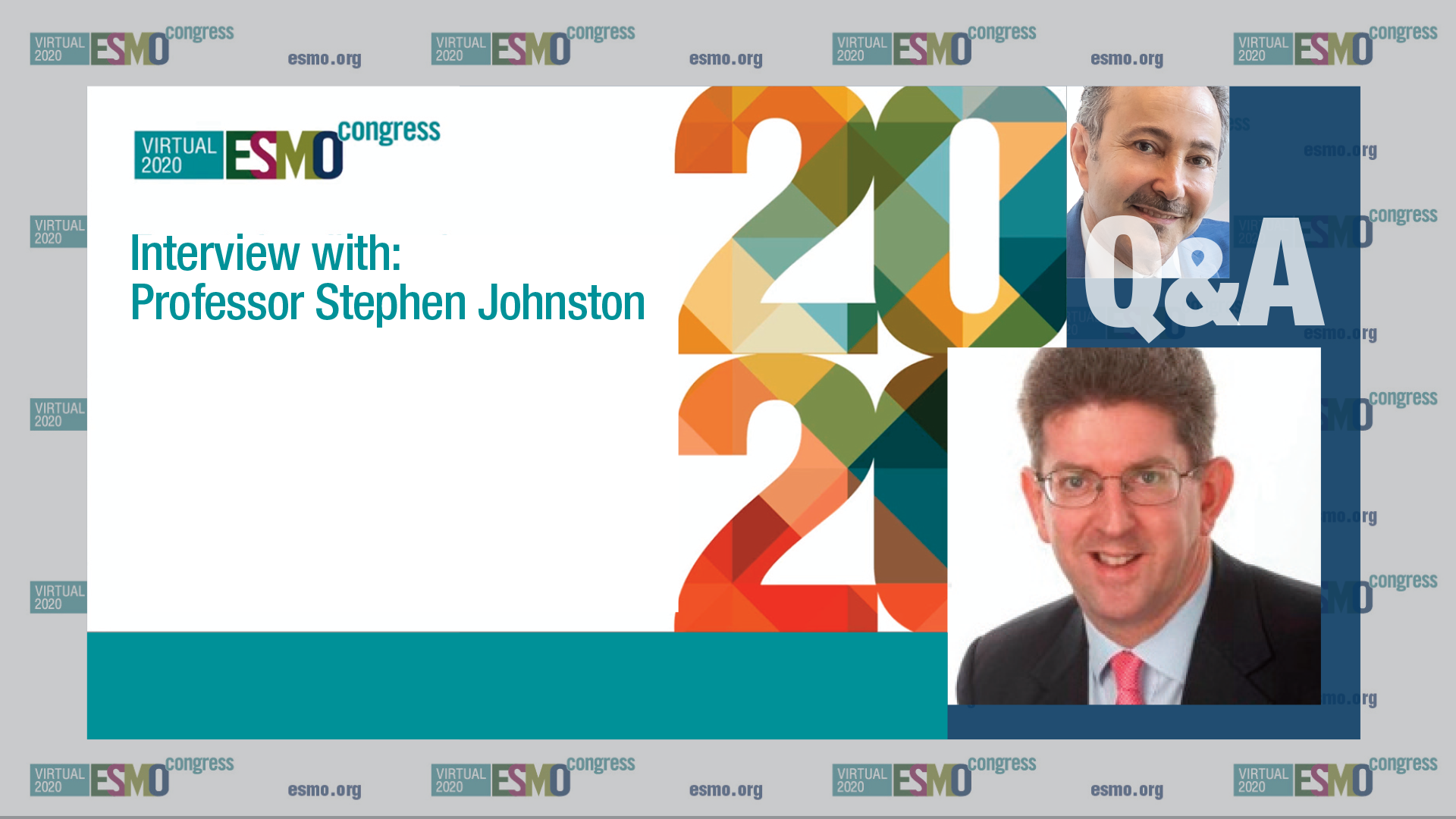 ESMO 2020 - Q&A with Professor Stephen Johnston on results from MonarchE