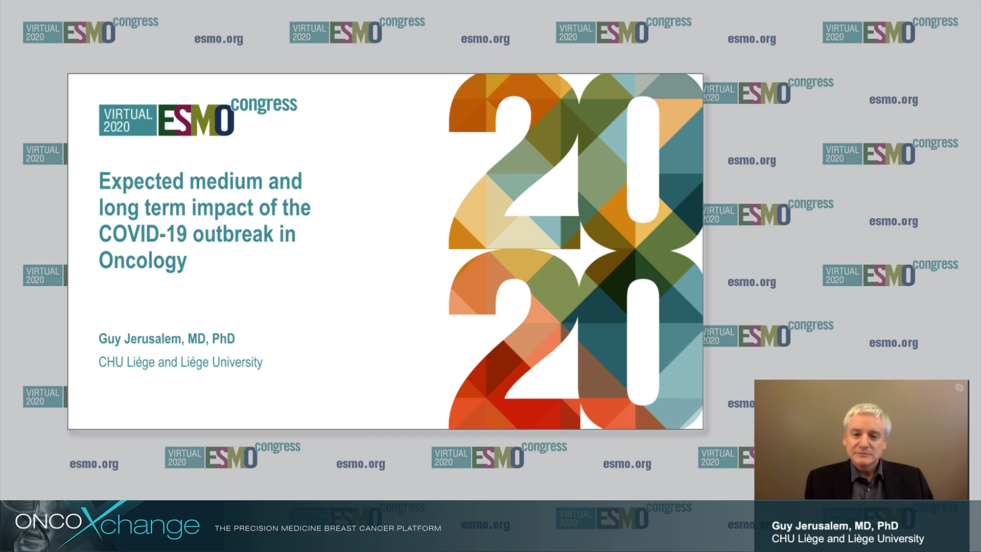 ESMO-2020 - Expected medium and long-term impact of the COVID-19 outbreak in Oncology