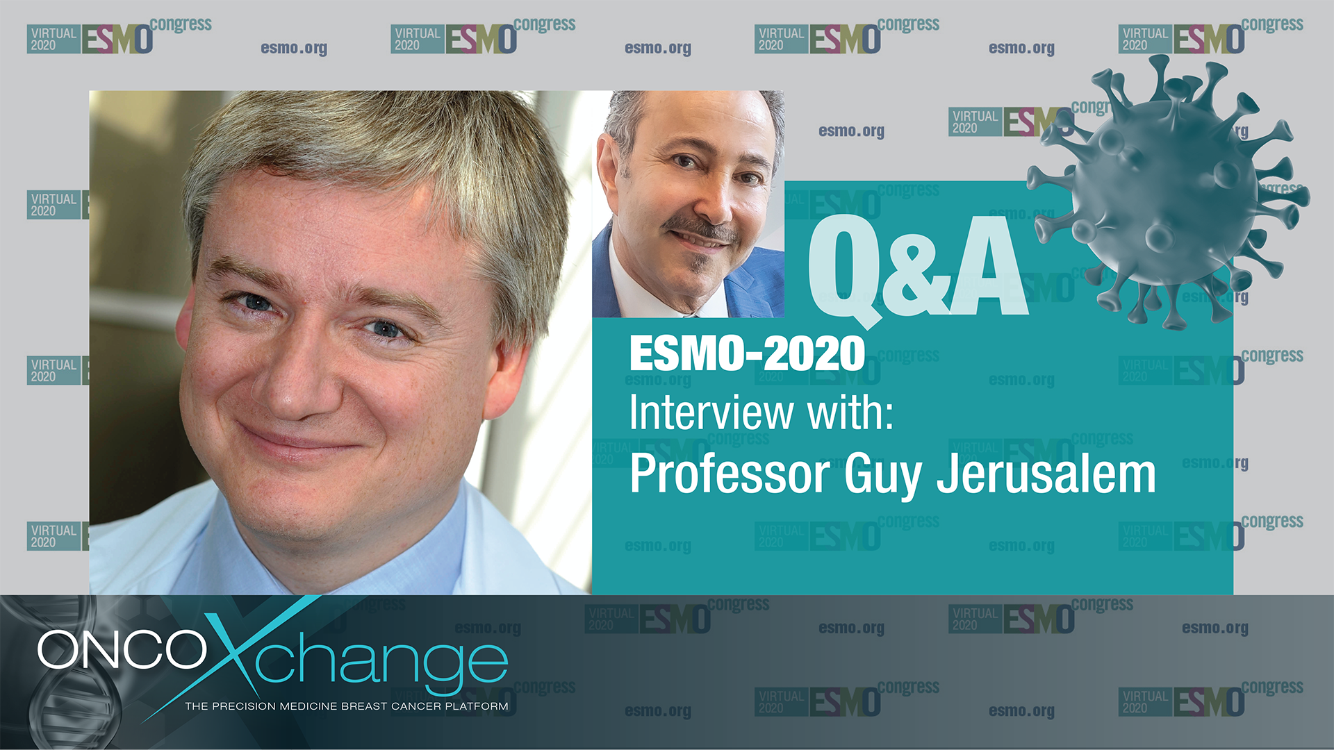 ESMO-2020 Q&A with Professor Guy Jerusalem on Expected medium and long-term impact of the COVID-19 outbreak in Oncology